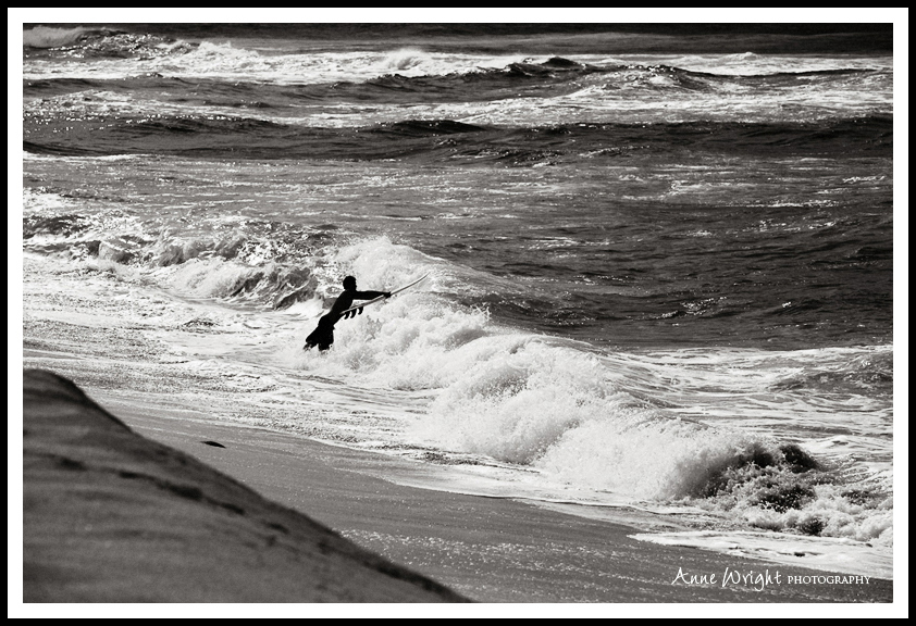 Surfer_Oahu_Anne_Wright_Photography_bw